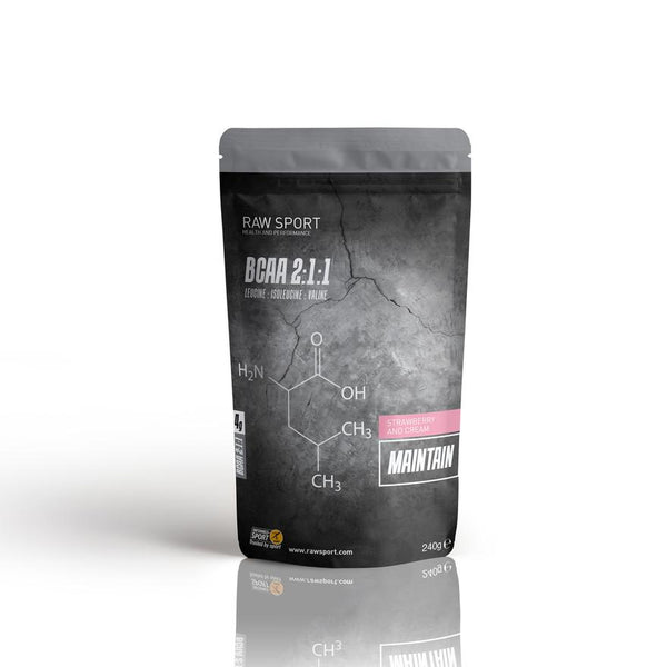 Raw Sport Maintain strawberries and cream 240g