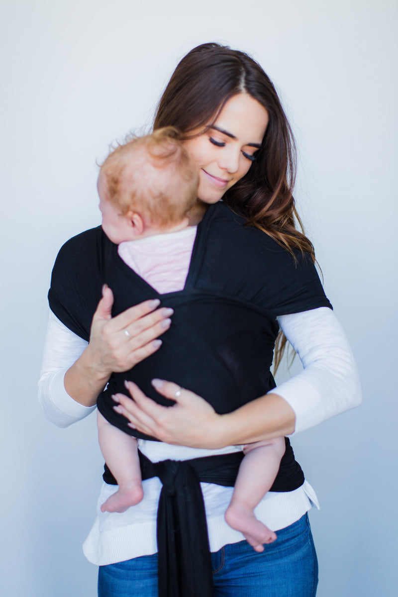 Cotton Baby Wrap Black From The Avenue
