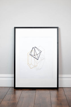 Nursery Wall Print - Diamond