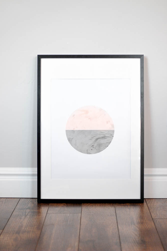 Nursery Wall Print - Sunrise