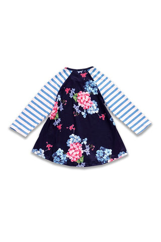April Flowers Girls Dress