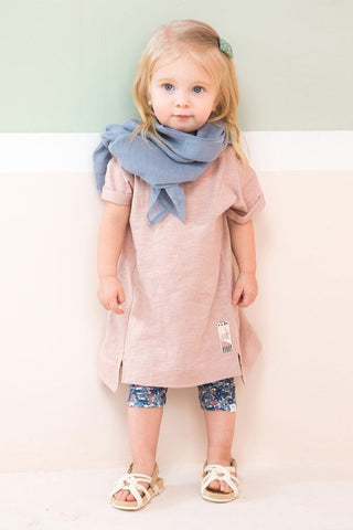 Girls Pink High Low Tunic