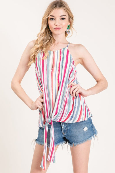 Ties and Stripes Tank