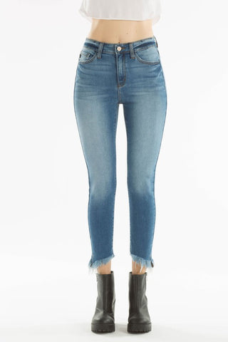 KanCan - Light Distressed Ankle Pant