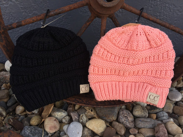 CC Beanie Hats - Girls