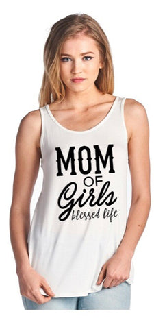 Mom of Girls Tank