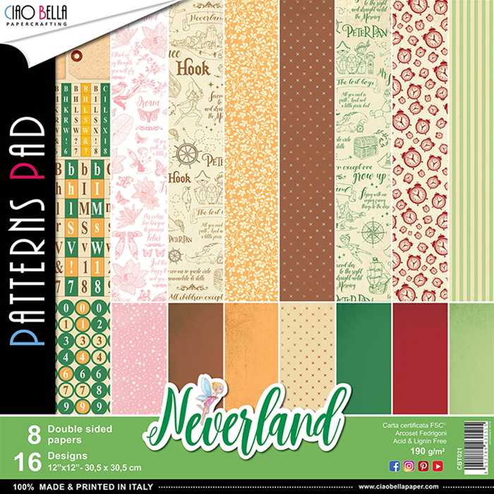 NEVERLAND PATTERNS PAD