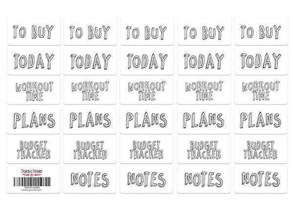 STICKERS  #4-003