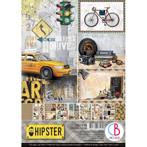 HIPSTER CREATIVE PAD A4