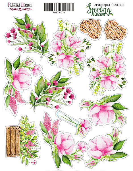"KIT OF STICKERS #010, ""SPRING BLOSSOM"""