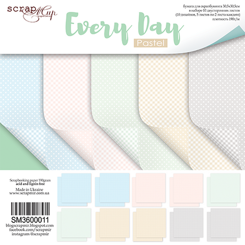 Every Day pastel
