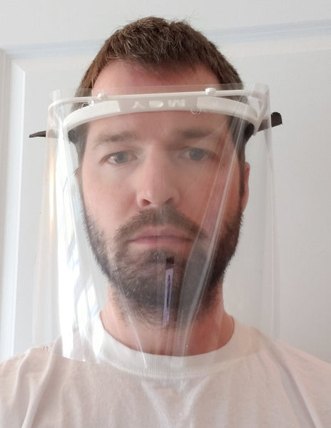 Design: Henneman v2 3d Printed Face Shield