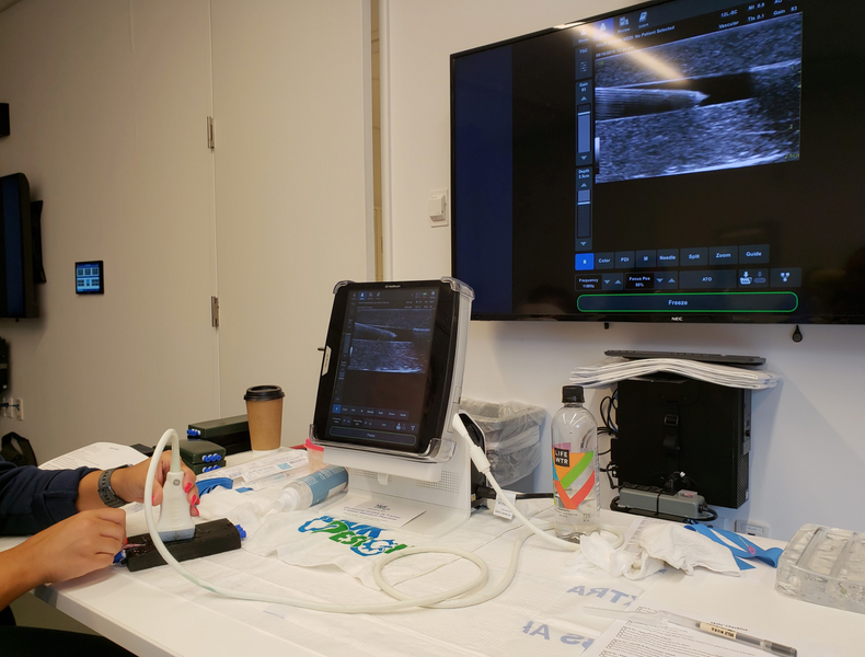 Ultrasound Guided IV Phantom Trainer Course