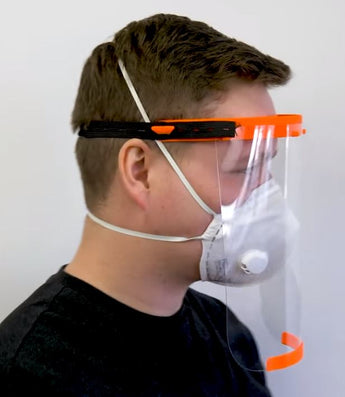 Design: Prusa 3D Printed Face Shield