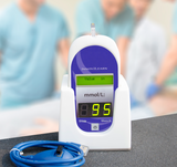 GLUCO III -- Glucometer for medical simulation (Hospital style)