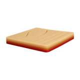 "Medium 3-Layer Suture Pad with Wounds (4"" x 4"" - Light Skin)"