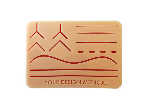 Large 3-Layer Suture Pad with Wounds -- Original Version