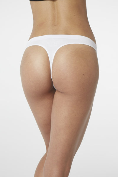 Boody Bamboo G-String in Black or White-bamboofeet