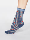 Juliet Cherry Bamboo Organic Cotton Blend 2 Sock Pack by Thought-bamboofeet