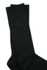 Jet Black Bamboo Socks by Swole Panda, Size 7-11