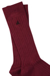 Chestnut Brown Bamboo Socks by Swole Panda, Size 7-11