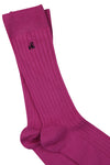 Purple Bamboo Socks by Swole Panda, Size 7-11