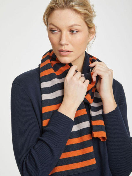 Sail La Vie Organic Cotton and Wool Scarf by Thought-bamboofeet