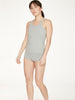 Leah Womens GOTs Organic Cotton Brief in Grey Marle by Thought-bamboofeet