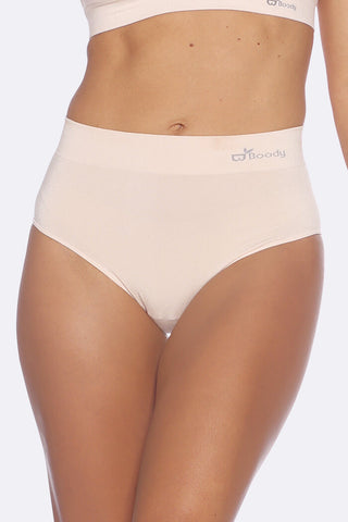 Boody Bamboo Full Briefs in Black, Nude or White-bamboofeet