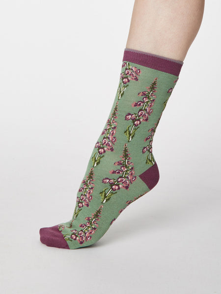 Garden Flowers Bamboo Socks Gift Box by Thought, Size 4-7-bamboofeet