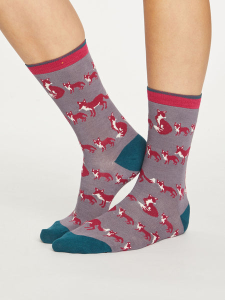 Animal Kin Bamboo Socks by Thought Size 4-7-bamboofeet