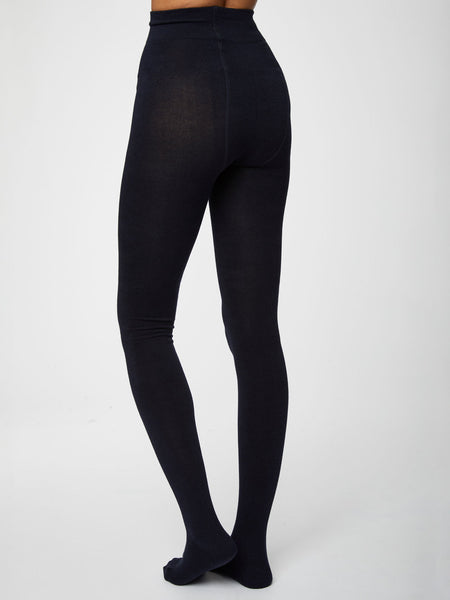 Elgin Bamboo Tights in Black by Thought-bamboofeet