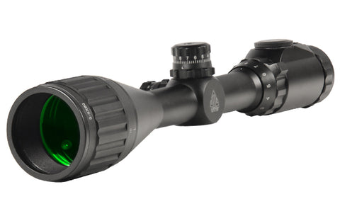 "UTG 3-9X50 1"" Hunter Scope, AO, 36-color Mil-dot, w/ Rings - Clear Sight Scopes"