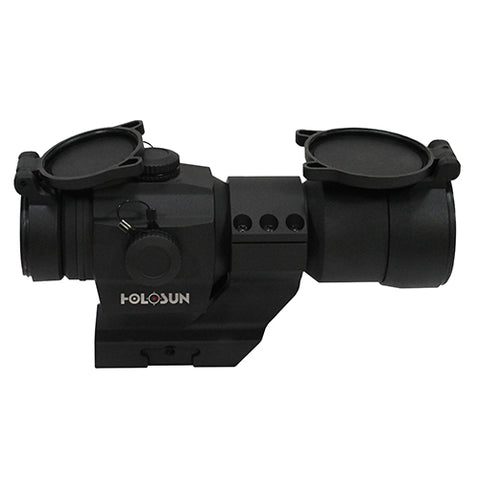 Holosun Red Dot Sight 1x 2 MOA Dot with Weaver-Style Cantilever Mount, 30mm Tube, Matte Black - Clear Sight Scopes