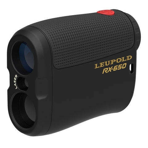 Leupold RX-650 Micro Laser Rangefinder Black - Clear Sight Scopes