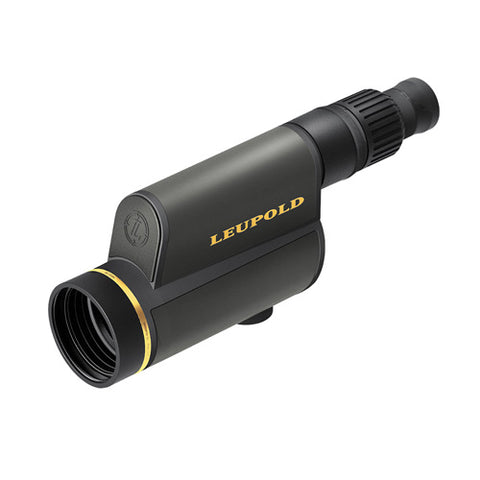 Leupold Gold Ring Spotting Scope 12-40x60mm, Straight Viewing, Shadow Gray - Clear Sight Scopes