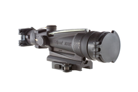 Trijicon ACOG 3.5x35mm Dual Illuminated Scope Green Horseshoe/Dot M249 Ballistic Reticle with GDI Mount and ARD, Black - Clear Sight Scopes