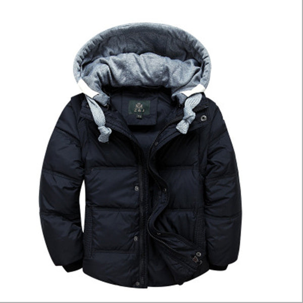 Hooded Down Coats - Hiccup Baby
