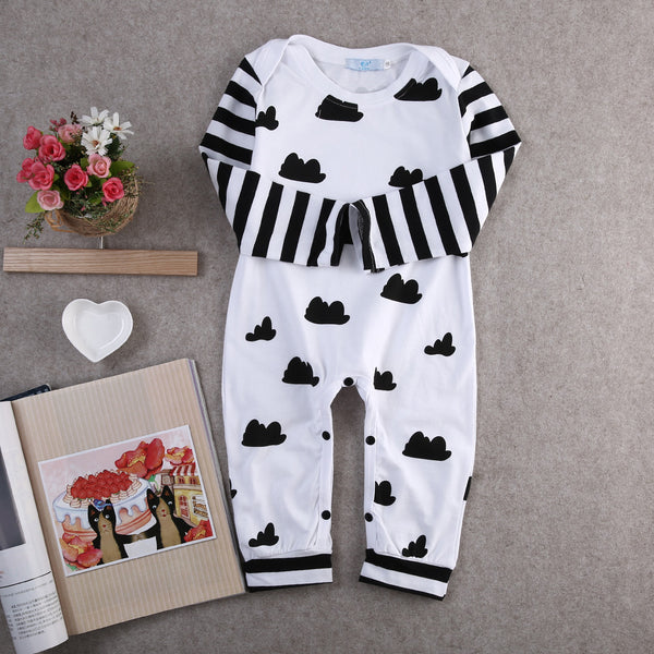 Black Cloud Romper - Hiccup Baby