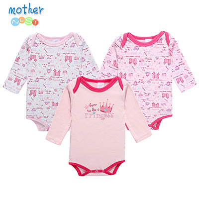 3 Piece Princess Onesies - Hiccup Baby