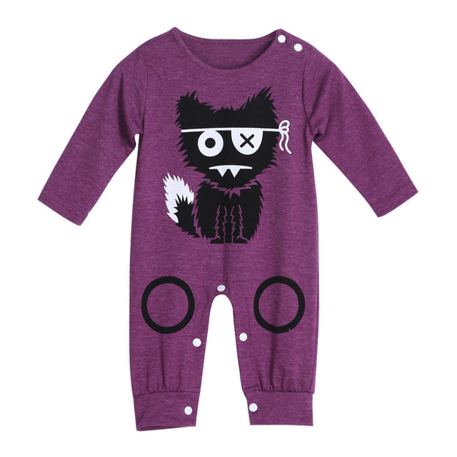 Little Monster Romper - Hiccup Baby