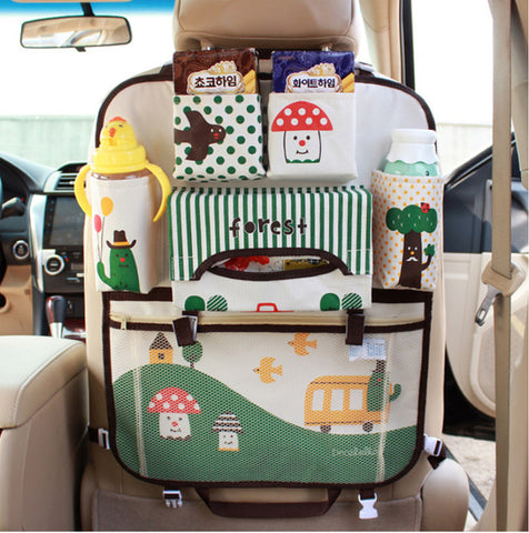 Viciviya Hanging Car Organizer- Forest - Hiccup Baby