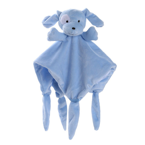 Newborn Soft Puppy Dog Puppet Blanket