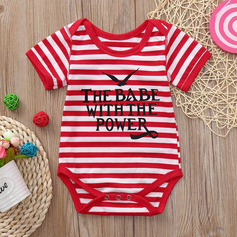 Infant Baby Romper Boys Girls Letter Print - Hiccup Baby