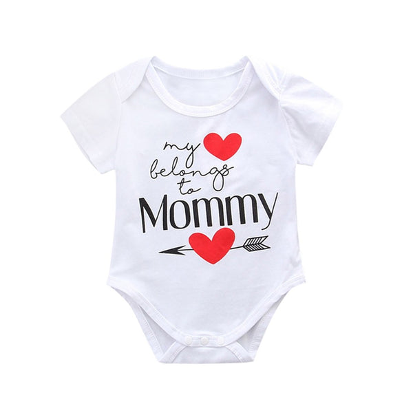 Newborn Infant Baby Romper Mother's Day - Hiccup Baby