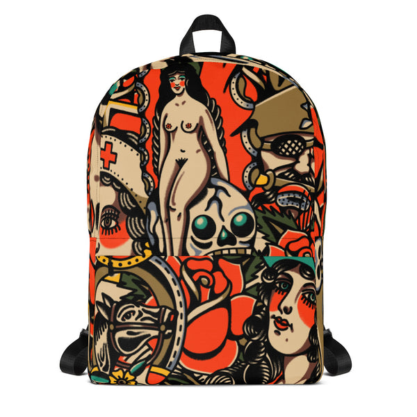 All Over Mashup Backpack