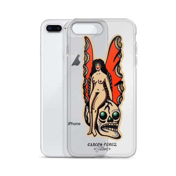 Butterfly Lady iPhone Case