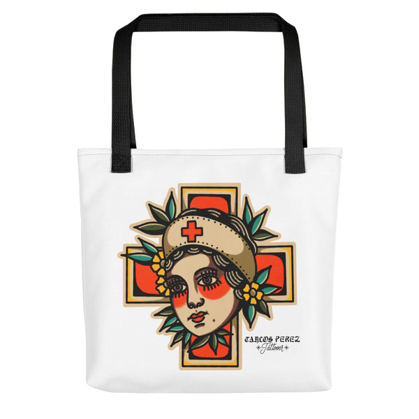 Lady Nurse Tote bag