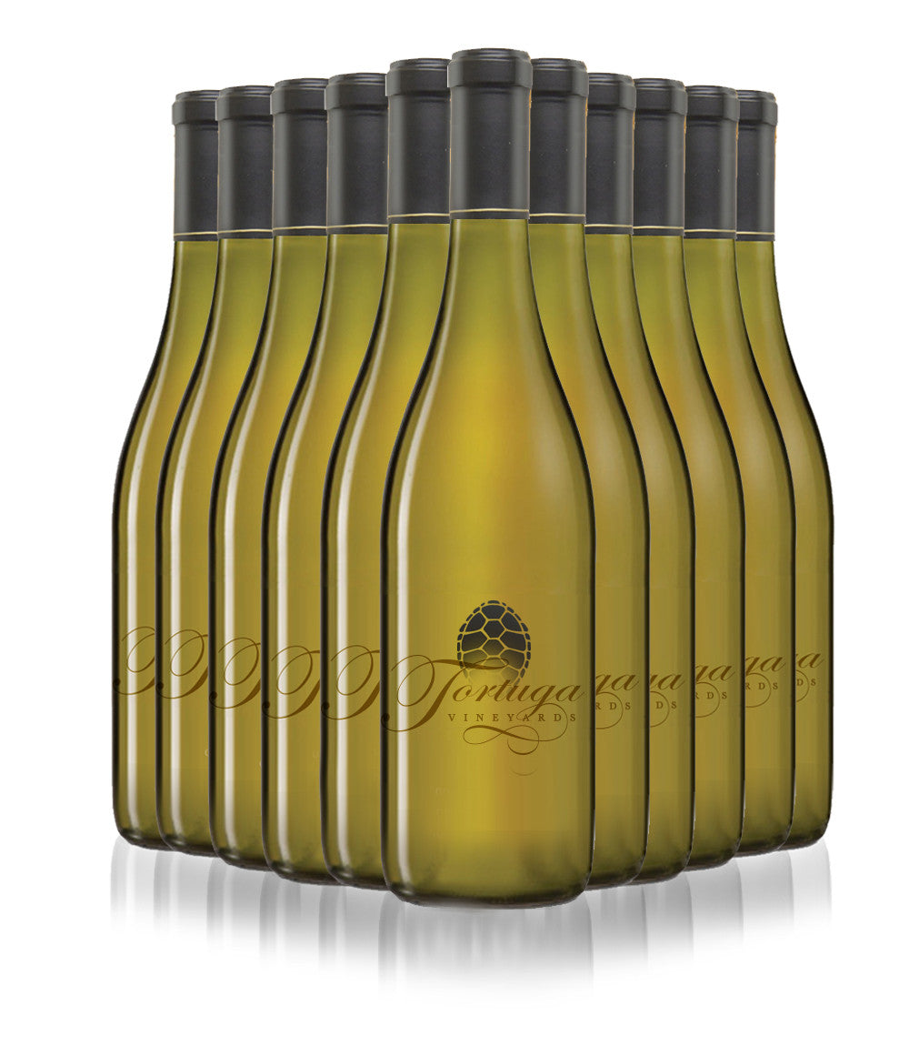 2014 Tortuga Vineyards Chardonnay - 1 case (12 bottles)