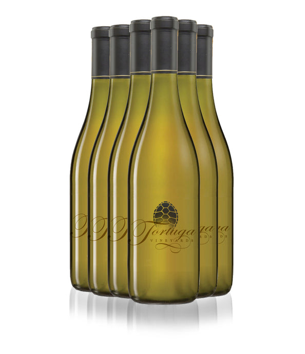 2016 Tortuga Vineyards Chardonnay - 1/2 case (6 bottles)